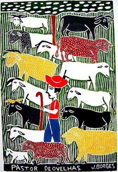 Arte Popular do Brasil: J. Borges