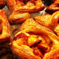 Break-fast with Seattle's Cafe Besalu... freshly baked pastries (made right before your eyes). The Photo is a seasonal Nectarine Croissant. For more food and fun, read: https://foodguruchannel.wordpress.com/2013/10/16/seattle-reining-in-food-and-fun/