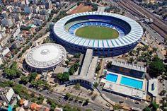 Estádio Mário Filho (Maracanã) - Rio de Janeiro - Capacidade: 78,9 mil