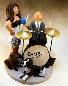 http://www.magicmud.com  $235  1 800 231 9814 email magicmud@magicmud.com http://blog.magicmud.com https://twitter.com/caketoppers https://www.facebook.com/PersonalizedWeddingCakeToppers #wedding #cake #toppers #custom #personalized #Groom #bride #anniversary #birthday#weddingcaketoppers#cake toppers#figurine#gift#wedding cake toppers #drummer#drumming#drum#percussionist#rocknroll#rockStar#rockGod#musician