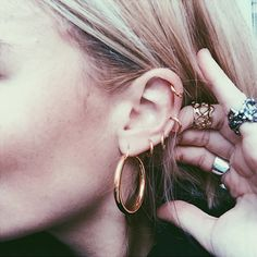 Pandora Sykes: Tattoos Are Out, Piercings Are In. Now Let These Fashion Girls Show You Why  | For more ideas, click the picture or visit www.thedebrief.co.uk