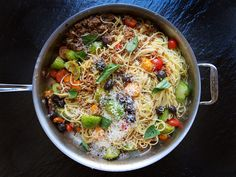 Simple Weeknight Meal, Summer bolognese