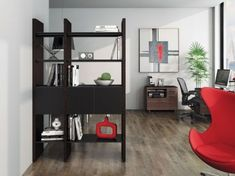 Order BDI Semblance Two-Section Storage Espresso Stained Oak, Mounted to a wall, SEMBLANCE can span any length. As a room divider, SEMBLANCE is recommended for lengths up to Modular Walls, Modular Shelving, Open Shelving, Adjustable Shelving, Modular Storage, Tempered Glass Shelves, Wall Outlets, Shelf Design, Tv Stands