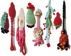 CécileDachary Science Art, Embroidery Art, Textile Fabrics, Fabric Art, Installation Art, Fiber Art, Cecile, Soft Sculpture, Fabric Manipulation