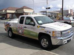 New vehicle wrap for Hometown Chevy - Diamonds & Dreams - Print & Install by Cassel Promotions & Signs