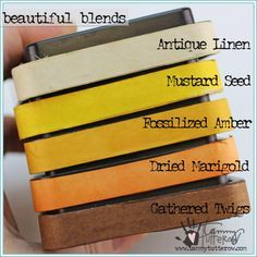 Beautiful Blends Shades of Fall | www.tammytutterow...
