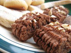 Spritz Cookies - Spritzgebaeck: Chocolate Spritz Cookies filled with Jam