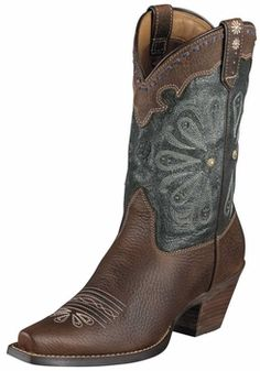 "Ariat Womens Daisy Western Boots 10"" Shaft 10004577"