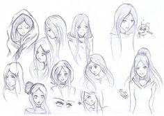anime manga | Anime/Manga Zeichnungen