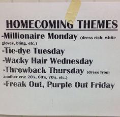 high school homecoming essays