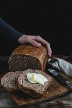 Špaldový domáci chlieb Good Food, Yummy Food, Cooking Recipes, Healthy Recipes, Bread And Pastries, Food Dishes, Baked Goods, Great Recipes, Banana Bread