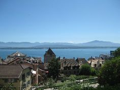 Nyon, Switzerland My World, Finland, Switzerland, Places To Travel, Coins, Germany, Italy, France, Memories