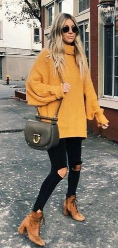 16 Trendy Autumn Street Style Outfits For 2018 2019 Street style outfits! The post 16 Trendy Autumn Street Style Outfits For 2018 2019 appeared first on Sweaters ideas. Street Style Outfits, Mode Outfits, Trendy Outfits, Simple Outfits, Casual Outfits 2018, Fashionable Outfits, Street Outfit, Club Outfits, Casual Street Style