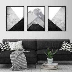 Printable Art Set of 3 Prints Downloadable Prints Printable