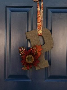 Fall Letter for Front Door