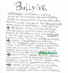 "Edu (@resumoedu) no Instagram: ""Eixo temático - bullying #TMMRED 》@redacaodecampeao"""