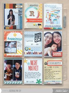 September Project Life {Studio Calico October Kit} - Two Peas in a Bucket