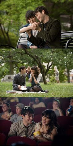 500 Days of Summer- a quirky, flighty, postmodern romantic comedy. Sorta kinda like the summer you almost wished would never end.