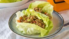 It's OK to admit how much we all love those addictive Asian lettuce wraps, and it's also OK to admit what a toll eating them in... Chicken Lettuce Wraps, Lettuce Cups, Asian Lettuce Wraps, Pf Changs Lettuce Wraps, Easy Home Recipes, Asian Recipes, Dinner Recipes, Healthy Recipes, Cooking Recipes