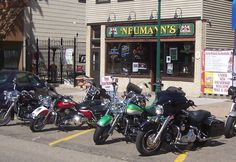 Bars: Minnesota, Neumann's Bar, St. Paul.Having opened in 1887, it's the oldest bar in the state. Once you're done drinking, the onsite bait shop can set you up if you feel the urge to go fishing.