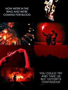 mare barrow & cal calore + aesthetic (red queen) ; glory and gore - lorde