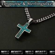 30 best sterling silver pendants necklace chain images on turquoise and silver cross ssterling silver 925 turquoise indian jewelry http necklace chainpendant necklacesterling mozeypictures Images