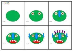 Monstre : le reconstituer en suivant la frise – MC en maternelle Big Green Monster, Sequencing Pictures, Album Jeunesse, Petite Section, Green Monsters, Activity Games, Best Teacher, After School, Book Authors