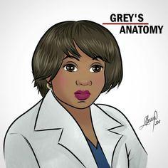 Miranda Bailey, Greys Anatomy Cast, Grey Anatomy Quotes, Animation, Anatomy Art, Tv Shows, 1, Instagram, Figure Drawings