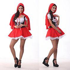 Disfraz de Halloween para Mujer Caperucita Roja