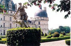 A. Loire River Valley, Chateau de Valencay by m. muraskin-france, via Flickr.