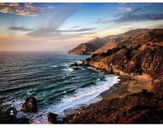 Always take the scenic route. 👍 . #bigsur #coast #coastline #monterey #highway1 #roadtrip #theoriginalroadtrip #oceanview #scenicdrive #scenicroute #epic #inspirational #inspiration #inawe #amazed . Thanks for the great pic @joshfiggs 😊