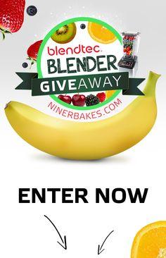 Blender Giveaway: Blendtec Designer 725 & Twister Jar – Enter now to win! | niner bakes