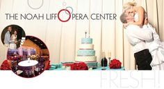 Think about the Noah Liff Opera Center when planning your wedding ceremony!