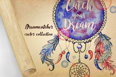 Dreamcatchers by ilonitta on @creativemarket