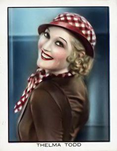 Thelma Todd #postcard