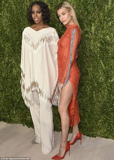 Left in the shade: Even Kelly Rowland could not compete with her younger glamour rival