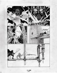 The Empire Strikes Back commission by Paul Pope