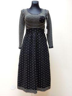 NEW! SONIA BY SONIA RYKIEL DRESS WOMEN'S Sz.S,L WOOL AUTHENTIC #SoniaRykiel #Casual