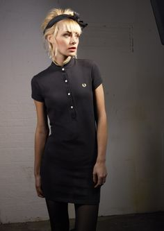 Fred Perry for the Amy Winehouse Foundation Shirt Dress