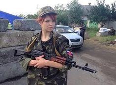 Ополченка ДНР