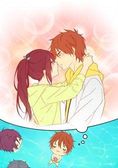 Image about anime in Free! Momotarou Mikoshiba, Makoharu, Cute Anime Boy, Anime Love, Otaku, Splash Free, Free Eternal Summer, Free Iwatobi Swim Club, Kyoto Animation