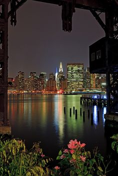NYC Skyline  (by Strykapose, via Flickr)