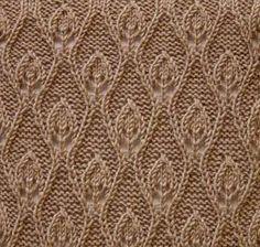 Leaves | Cool knitting pattern