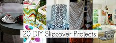 20 DIY Slipcover Projects