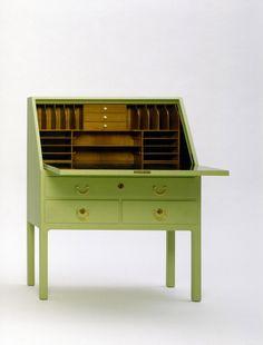 design-is-fine: Josef Frank, secrétaire, 1930. Made by Haus...