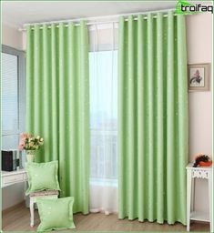 Gardiner för sovrummet - de bästa fotodesign gardiner till sovrummet