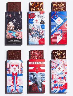 あなたならどれを選ぶ?米大統領選をモチーフにした、ユニークなチョコレートのパッケージが話題に | AdGang