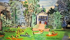 Raoul Dufy - Joinville at the Phillips Collection Art Gallery Washington, DC | Flickr - Photo Sharing!