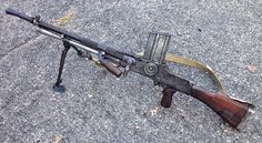 The ZB-26 light machine gun was developed in Czechoslovakia in the 1920s and used by the Czech military and also exported to other countries...