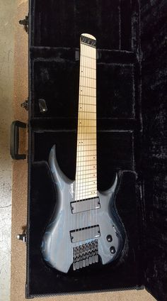 Ghost GHF8-200 / Blue - Blk Ash.....Legator Guitars